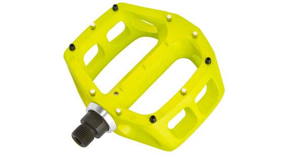 DMR V8 Pedalen geel